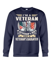 I'm A Veteran Crewneck Sweatshirt thumbnail