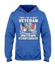 I'm A Veteran Hooded Sweatshirt thumbnail