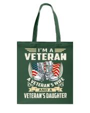 I'm A Veteran Tote Bag thumbnail