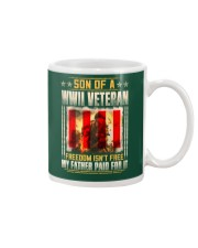 WWII Veteran Son-Paid For It Mug tile