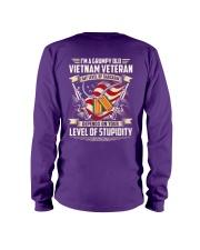 Grumpy Old Vietnam Vet Long Sleeve Tee thumbnail