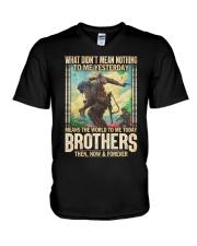 Means The World V-Neck T-Shirt thumbnail