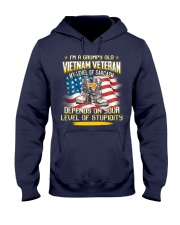 Grumpy Old Vietnam Vet Hooded Sweatshirt thumbnail