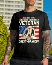 Being A Great-Grandpa Classic T-Shirt lifestyle-mens-crewneck-front-8