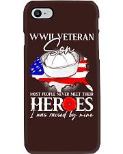 I Was Raised- WWII Sailor Veteran Son Phone Case thumbnail