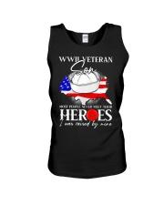 I Was Raised- WWII Sailor Veteran Son Unisex Tank thumbnail