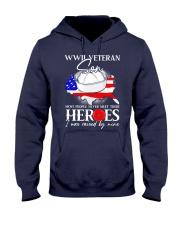 I Was Raised- WWII Sailor Veteran Son Hooded Sweatshirt thumbnail