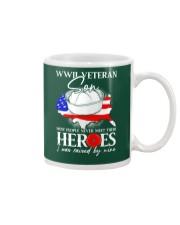 I Was Raised- WWII Sailor Veteran Son Mug thumbnail