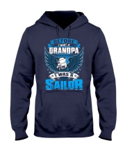 Sailor Before I Was a Grandpa Hooded Sweatshirt front