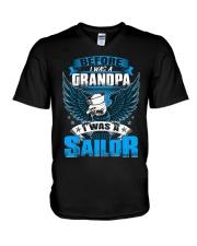 Sailor Before I Was a Grandpa V-Neck T-Shirt thumbnail
