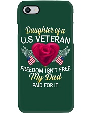 Daughter Of A US Veteran-Dad Paid Phone Case thumbnail