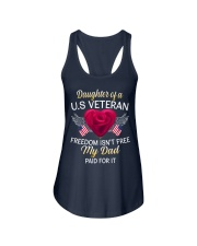 Daughter Of A US Veteran-Dad Paid Ladies Flowy Tank thumbnail