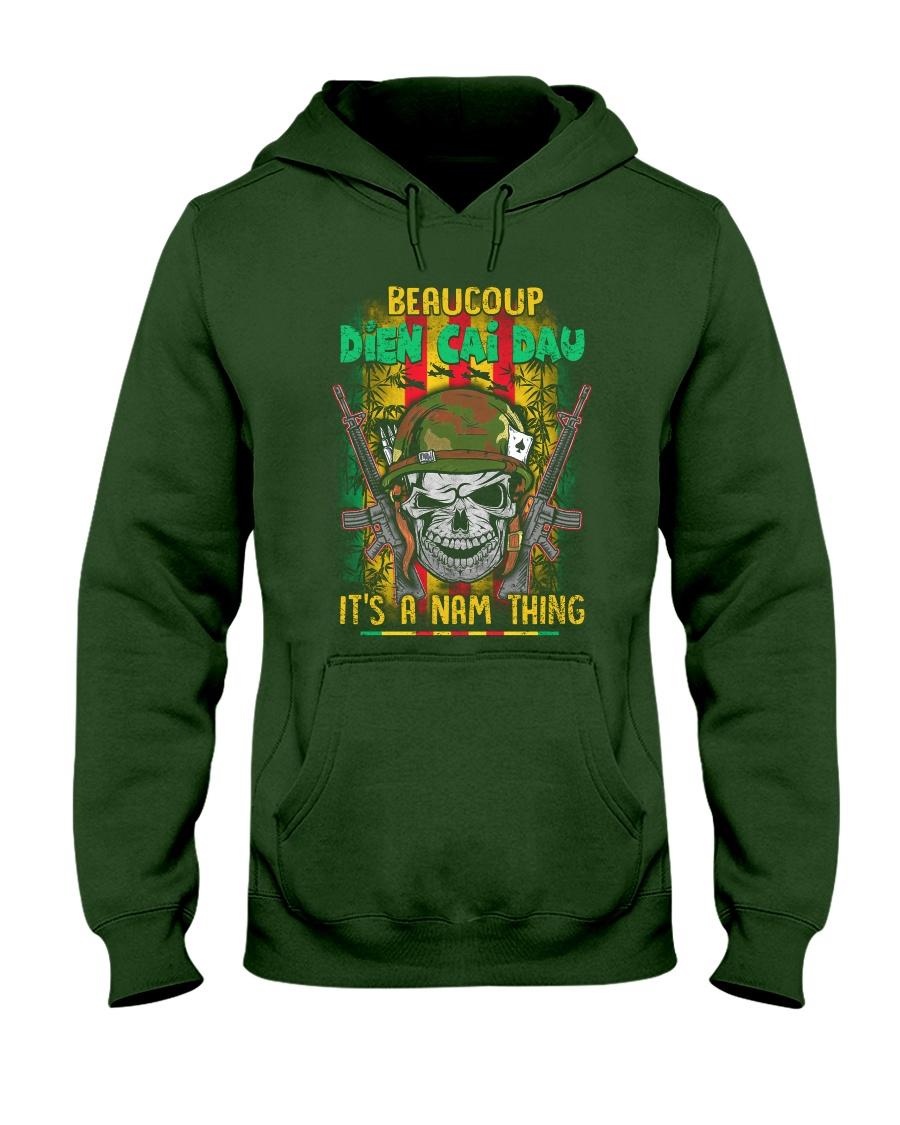Beaucoup Dien Cai Dau Hooded Sweatshirt
