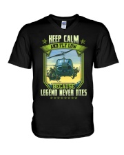 Keep Calm V-Neck T-Shirt thumbnail