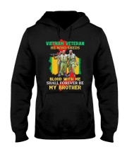 Forever Be My Brother Hooded Sweatshirt front