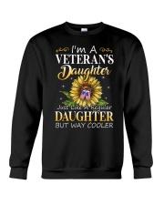 US Veteran Daughter-Cooler Crewneck Sweatshirt thumbnail