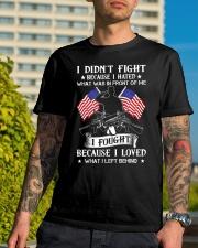 I Fought Classic T-Shirt lifestyle-mens-crewneck-front-8