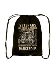 Wear Our Uniform Drawstring Bag thumbnail