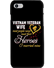 Vietnam Veteran Wife Phone Case thumbnail