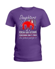Korean War Veteran Daughters Ladies T-Shirt thumbnail