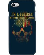 Veteran Oath Never Expires Phone Case thumbnail