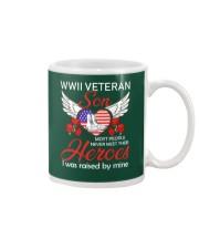WWII Veteran Son-Hero Mug thumbnail