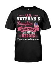 Hero Daughter Classic T-Shirt front