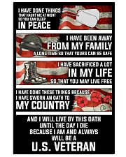 Oath 11x17 Poster front