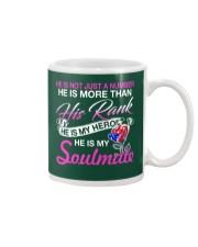 Veteran's Wife Soulmate Mug thumbnail