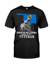 Born In Oklahoma Classic T-Shirt thumbnail