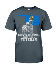 Born In Oklahoma Classic T-Shirt front