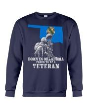 Born In Oklahoma Crewneck Sweatshirt thumbnail