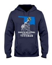 Born In Oklahoma Hooded Sweatshirt thumbnail