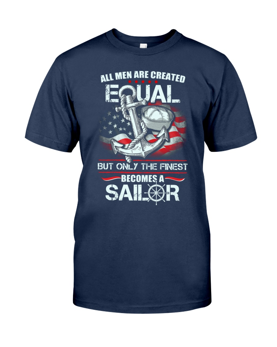The Finest Becomes A Sailor Classic T-Shirt