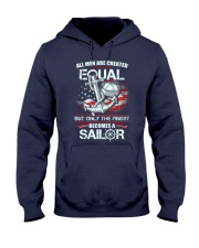 The Finest Becomes A Sailor Hooded Sweatshirt thumbnail