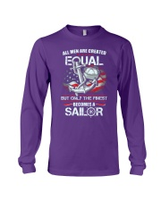 The Finest Becomes A Sailor Long Sleeve Tee thumbnail