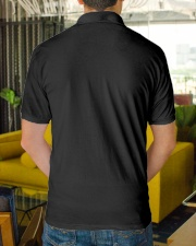 Gold Star Dad Classic Polo back