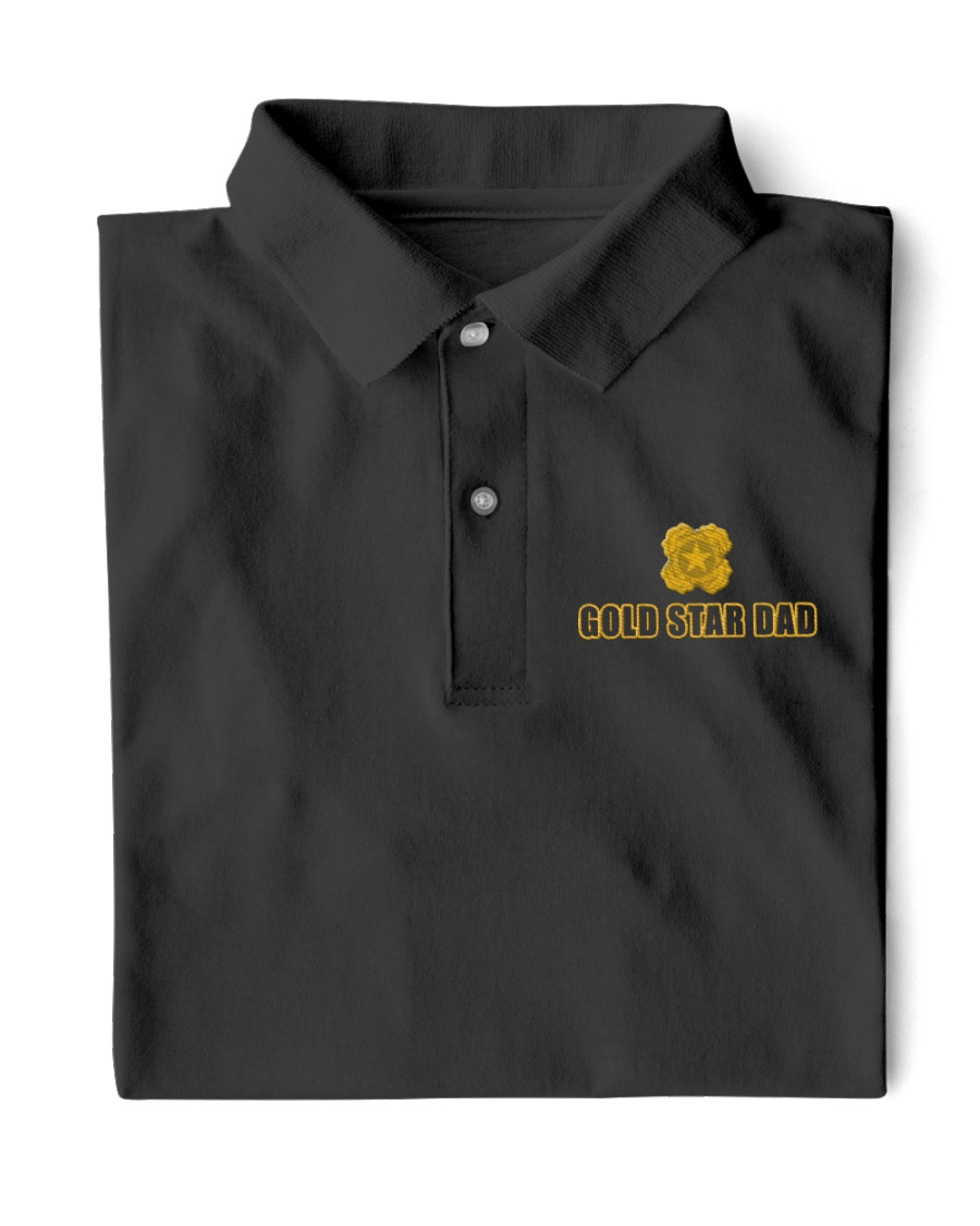Gold Star Dad Classic Polo