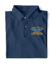 Combat Veteran Vietnam-CIB 2 Classic Polo front