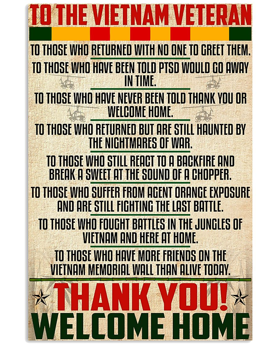 Thank You-Welcome Home 11x17 Poster