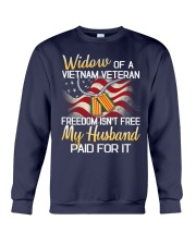 Widow Of A Vietnam Veteran Crewneck Sweatshirt thumbnail