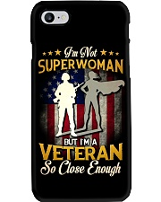 Superwoman Veteran Phone Case thumbnail