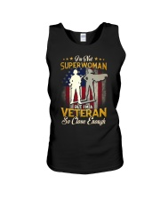 Superwoman Veteran Unisex Tank tile