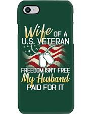 Wife Of A US Veteran Phone Case thumbnail
