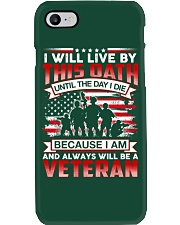 Live By This Oath Phone Case thumbnail