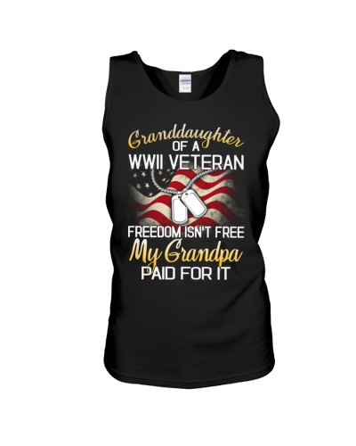 Granddaughter Of A WWII Veteran