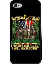 Forgive But Never Forget Phone Case thumbnail