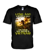 Long Ago Is Never Far Away V-Neck T-Shirt thumbnail