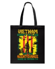 Agent Orange Is Trying To Kill Me Tote Bag thumbnail