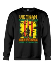 Agent Orange Is Trying To Kill Me Crewneck Sweatshirt thumbnail